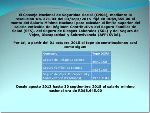 El Consejo Nacional de Seguridad Social (CNSS[3]